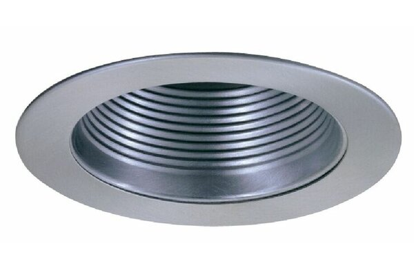 Phenolic Metal Baffle 4 Recessed Trim by Elco Lighting