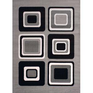 Dallas Spaces Gray/Black Area Rug