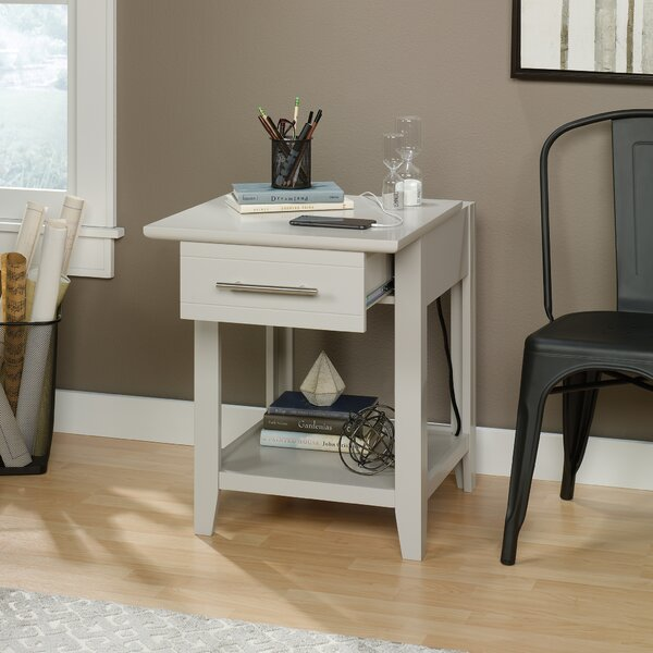 Cornette End Table with Storage by Latitude Run