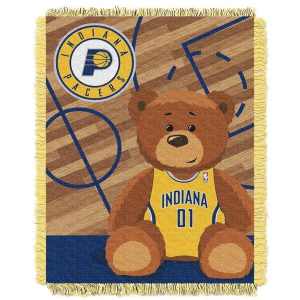 NBA Pacers Half Court Baby Throw by Northwest Co.