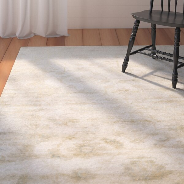 Hinson Beige Area Rug by August Grove