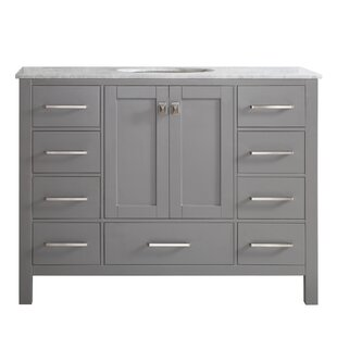 "Quickview. Newtown 48"" Single Bathroom Vanity"