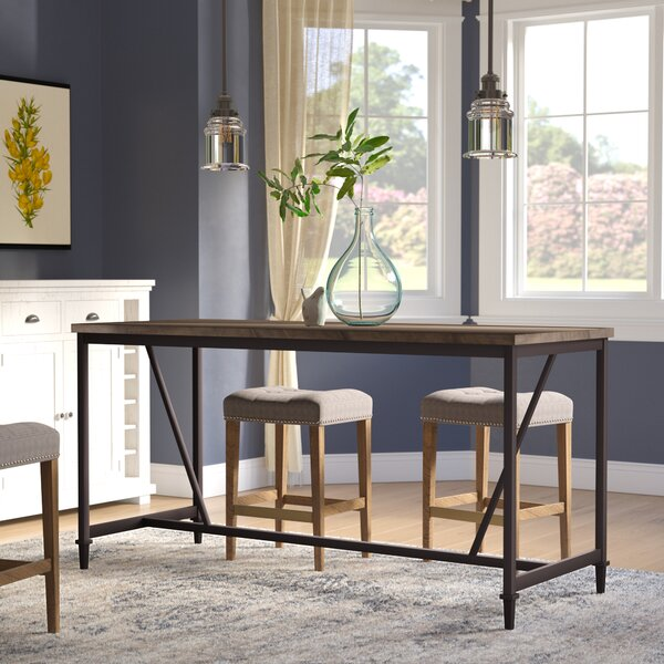 Lansing Counter Height Pub Table by Gracie Oaks