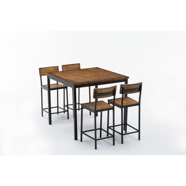 Bushman 5 Piece Counter Height Table Set By Williston Forge Best Choices