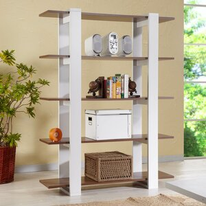 62″ Accent Shelf Bookcase