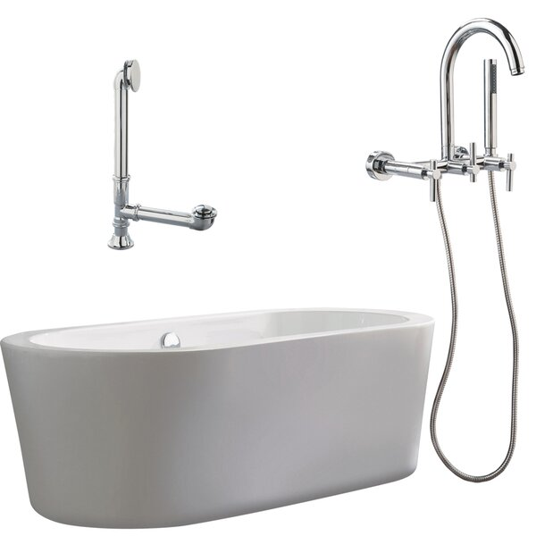 Ventura Apron Soaking Bathtub by Giagni