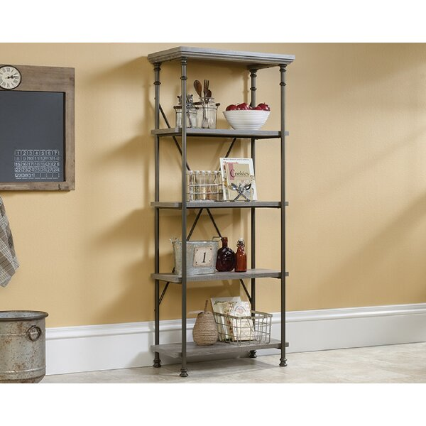 Mcguinness 5-Shelf Etagere Bookcase By 17 Stories