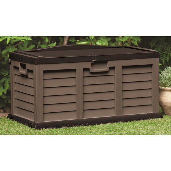 116 Gallon Plastic Deck Box by Starplast Starplast