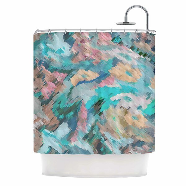 Alison Coxon Giverny Abstract Shower Curtain by East Urban Home