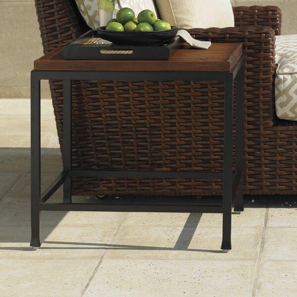 Ocean Club Pacifica Stone/Concrete Side Table by Tommy Bahama Outdoor Tommy Bahama Outdoor
