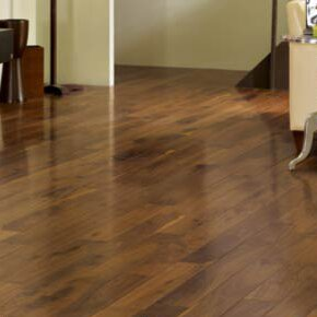 Character 5 Solid Walnut Hardwood Flooring in Walnut by Somerset Floors