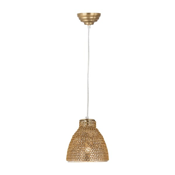Stanfield 1-Light Cone Pendant by Bay Isle Home