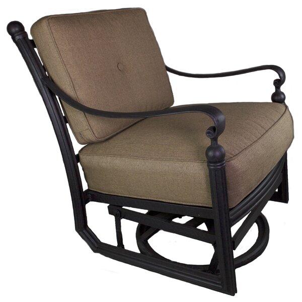 Schleicher Patio Chair With Cushion By Fleur De Lis Living