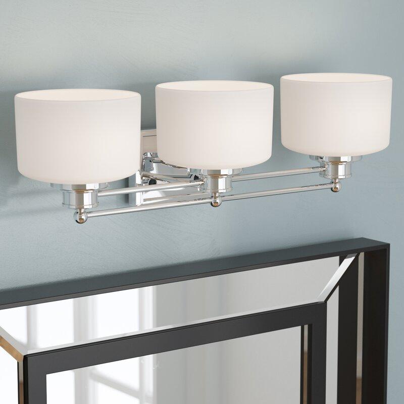 Beachcrest Home Gotha 3 Light Vanity Light Reviews: Birch Lane 3-Light Vanity Light & Reviews