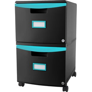 Green Rolling Filing Cabinets Youu0027ll Love | Wayfair