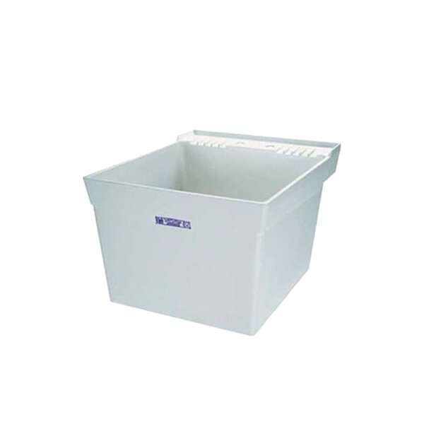 Utilatub 23 x 23.5 Wall Mounted Laundry Sink by E.L. Mustee & Son