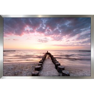 Sunset Waters Framed Photographic Print by Picture Perfect International