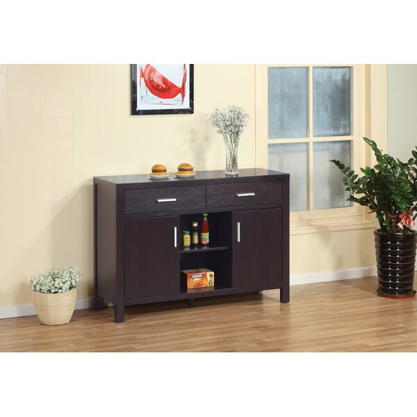 Adalyna 47.25'' Wide 2 Drawer Credenza by Latitude Run Latitude Run