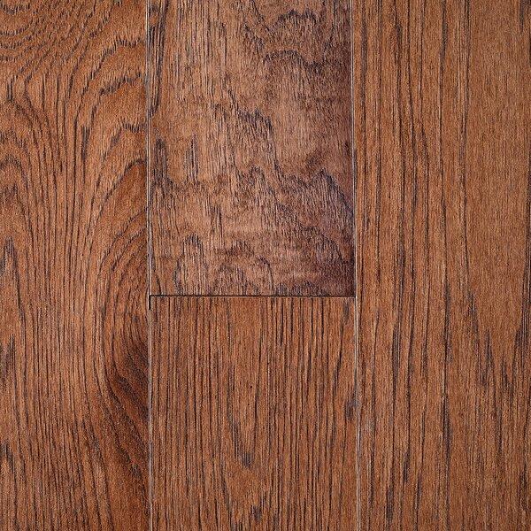 Riga 5 Engineered Hickory Hardwood Flooring in Brown by Branton Flooring Collection