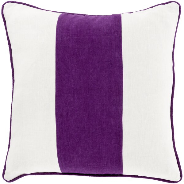 Pinkhead Linen Throw Pillow by Bay Isle Home