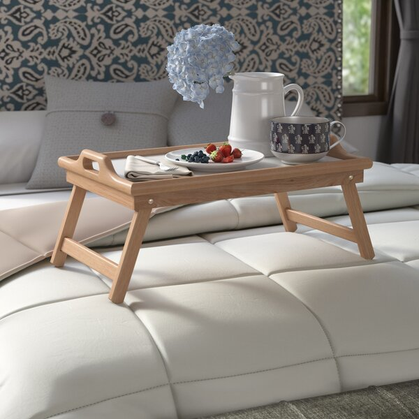 Annapolis Breakfast Tray with Handles and Foldable Legs by Andover Mills| @ $32.99