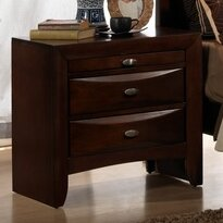 Antwerp 3 Drawer Nightstand by Red Barrel Studio