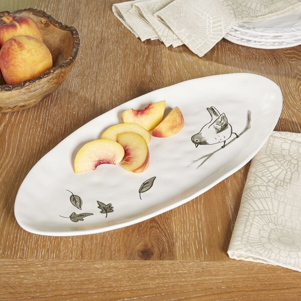 Oval Bird Platter by Birch Lane™