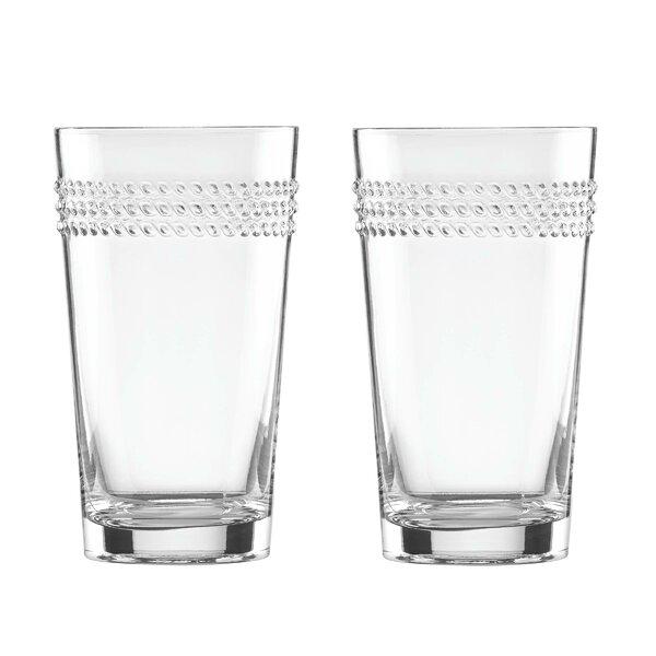 Wickford 16 oz. Highball Glass (Set of 2) by kate spade new york