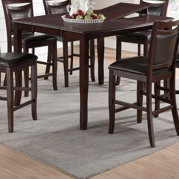Lomax Anticardium Counter Height Dining Table by Charlton Home