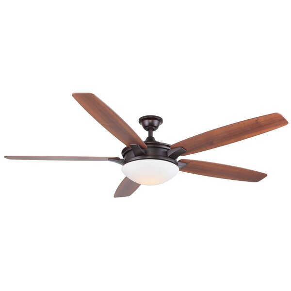 70 Vannorman 5 Blade LED Ceiling Fan with Remote by Red Barrel Studio