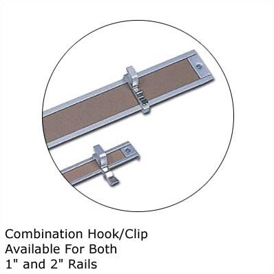 .5Map Rail Accessories - Combination Hook/Clip (Set of 9) by Marsh