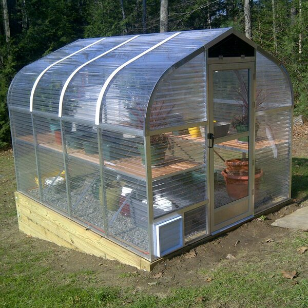 7.5 Ft. W x 7.75 Ft. D Greenhouse by Sunglo Greenhouses