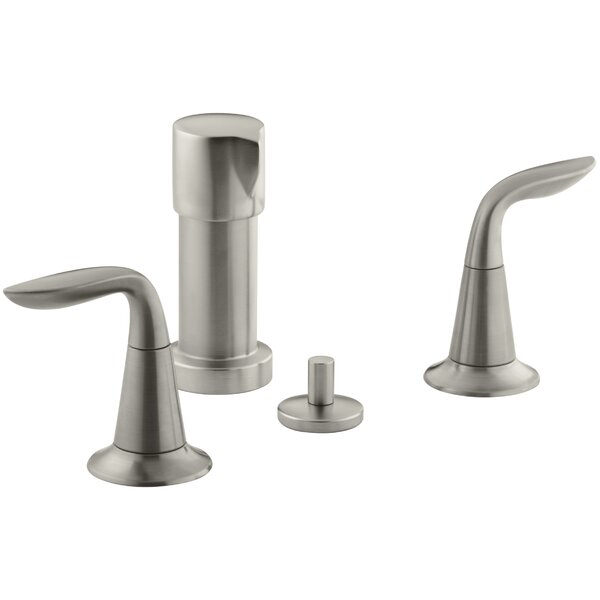 Refinia Vertical Spray Bidet Faucet with Lever Handles by Kohler