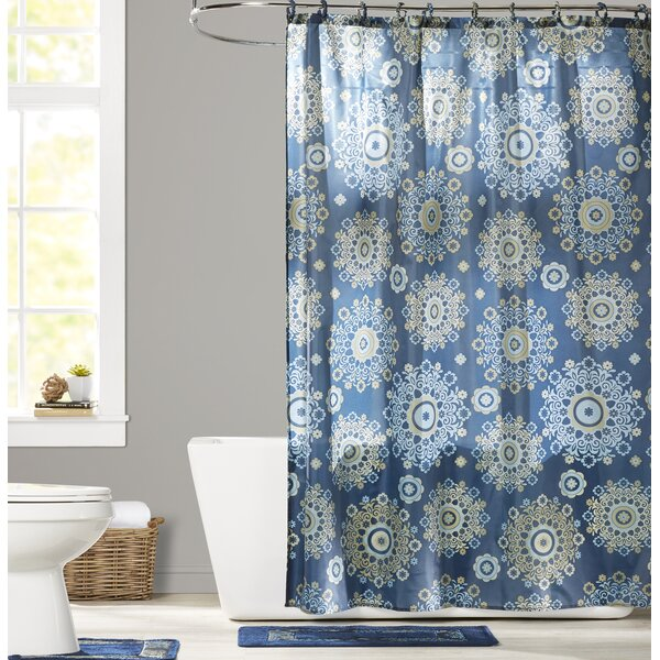 Hopewell Valley Shower Curtain Set by Red Barrel Studio