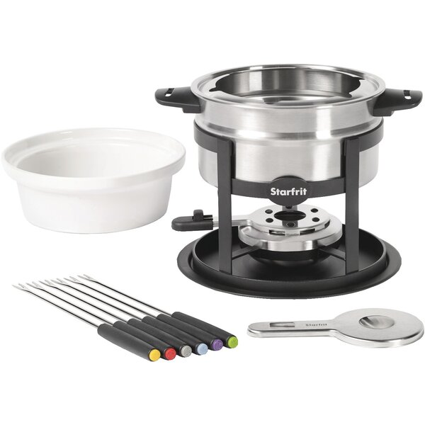 1.7 qt. Stainless Steel Fondue Set by Starfrit