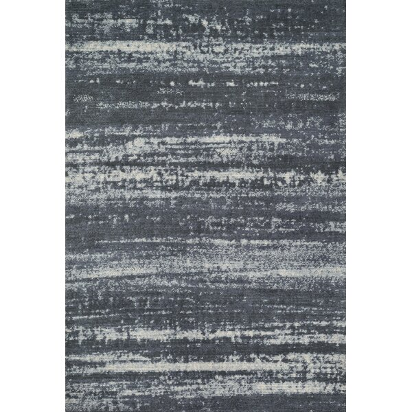 Wilde Charcoal Area Rug by Latitude Run