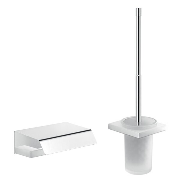 Lanzarote 2-Piece Bathroom Accessory Set by Gedy by Nameeks