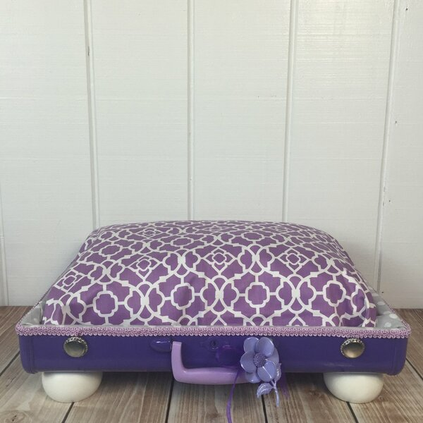 The Princess Fields Pet Suitcase Bed by Queen Tuna