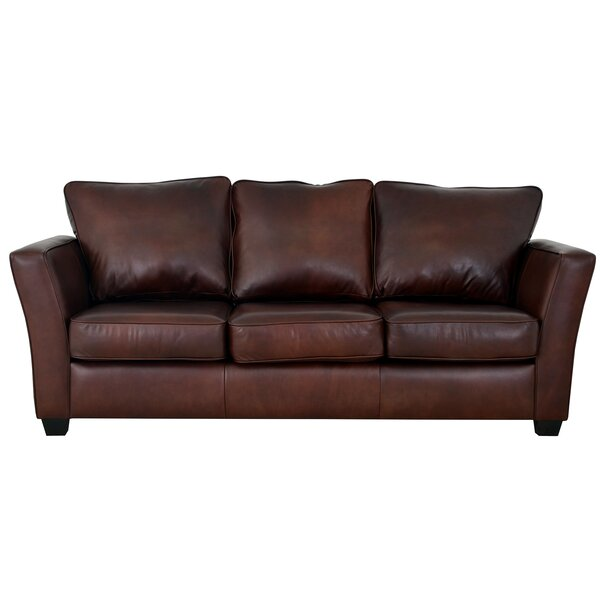Classy Bridgeport Leather Sofa by Westland and Birch by Westland and Birch