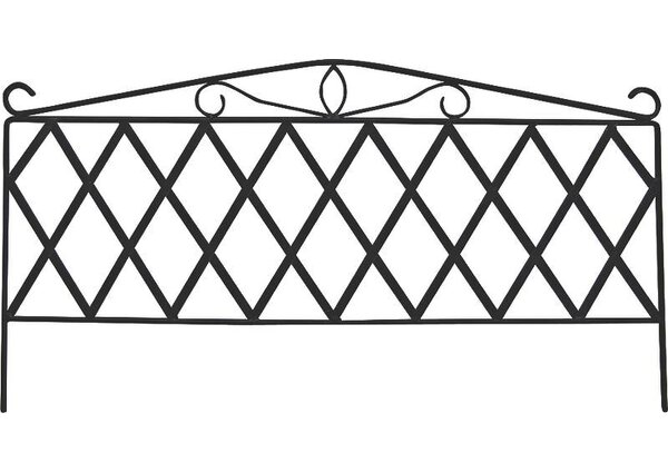 1.5 ft. H x 2.5 ft. W Garden Fence Panel by Mintcraft
