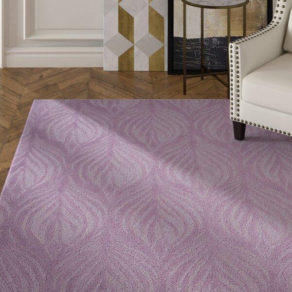 Jemma Hand-Tufted Lavender Area Rug by Mercer41