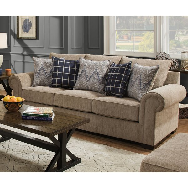 Premium Quality Della Sofa by Simmons Upholstery by Alcott Hill by Alcott Hill