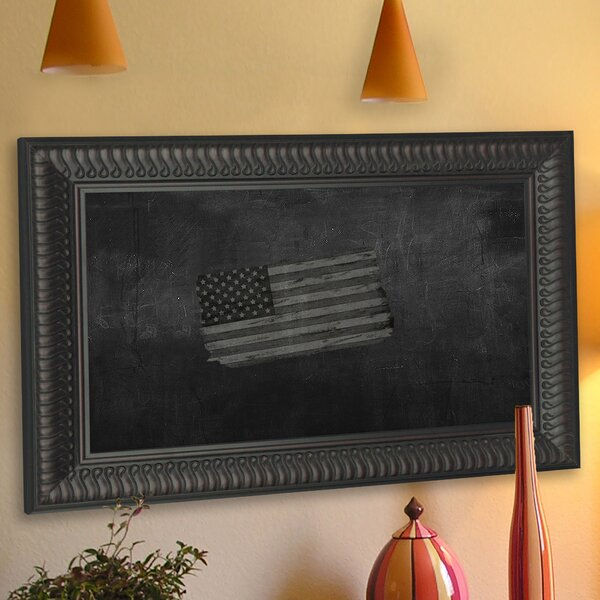 Royal Curve Wall Mounted Chalkboard by Rayne Mirrors