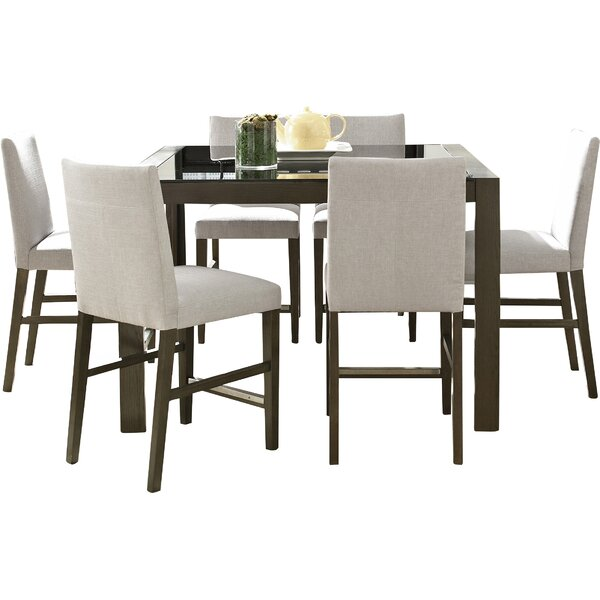 Girard 7 Piece Dining Set by Wade Logan