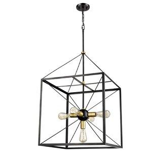 Comparison Luka 5-Light Lantern Chandelier By Wrought Studio