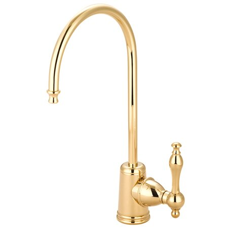 Naples Gourmetier Single Handle Kitchen Faucet by Kingston Brass