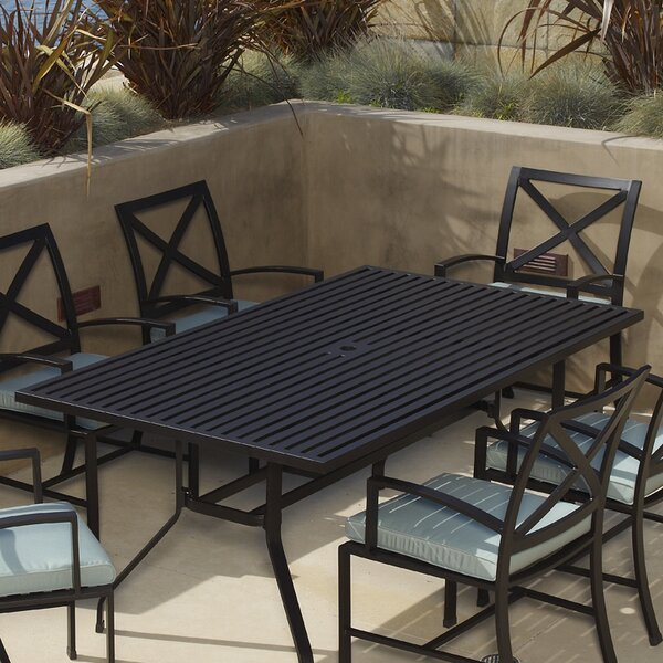 La Jolla Metal Dining Table by Sunset West