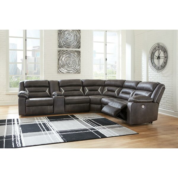 Planas Left Hand Facing Reclining Sectional By Red Barrel Studio