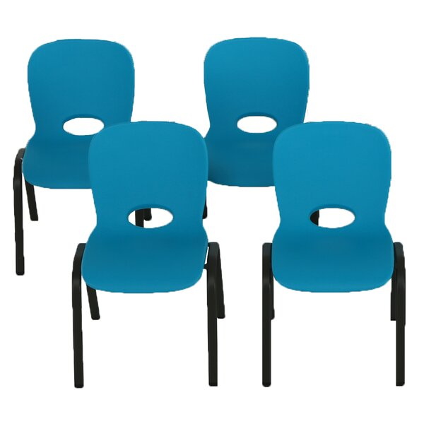 12 Plastic Classroom Chairs (Set of 4) by Lifetime