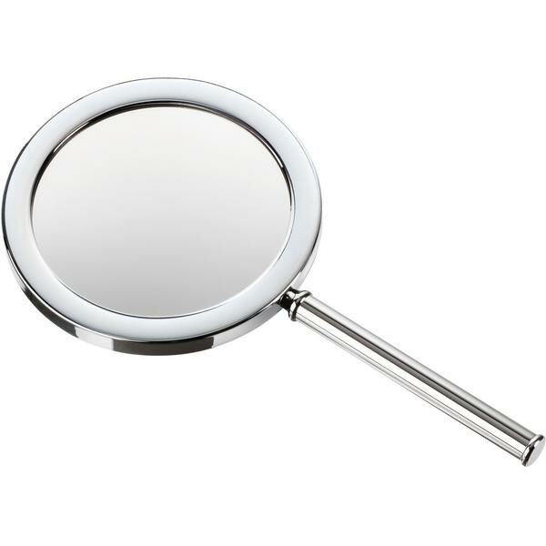 Korman Round Handheld Makeup/Shaving Mirror by Symple Stuff